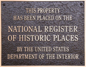 This property has been placed on the National Register of Historic Places by the United States Department of the Interior
