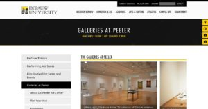 Richard E. Peeler Art Center – DePauw University
