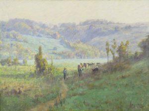 impressionist oil paini